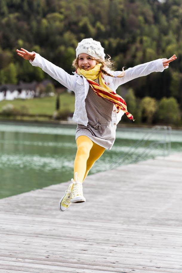 Tolle Kinderfotos in Kärnten, Klagenfurt, Österreich