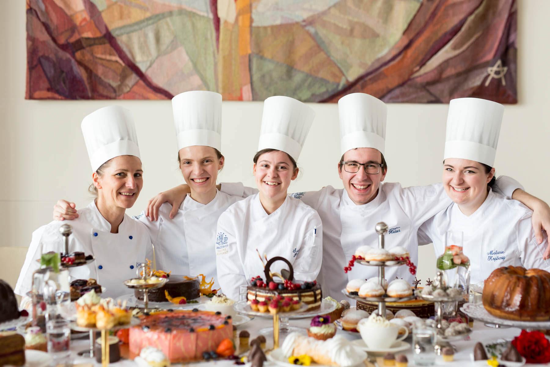 Cafe Konditorei Warmbaderhof in Villach, Kärnten / Food-Fotografen