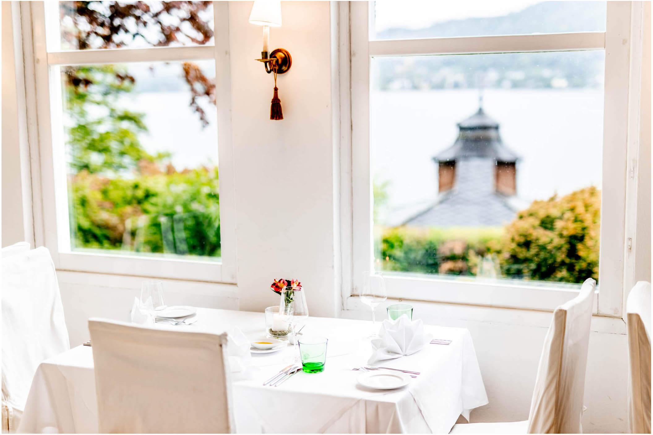 Restaurant des Schloss Miralago in Pörtschach am Wörthersee
