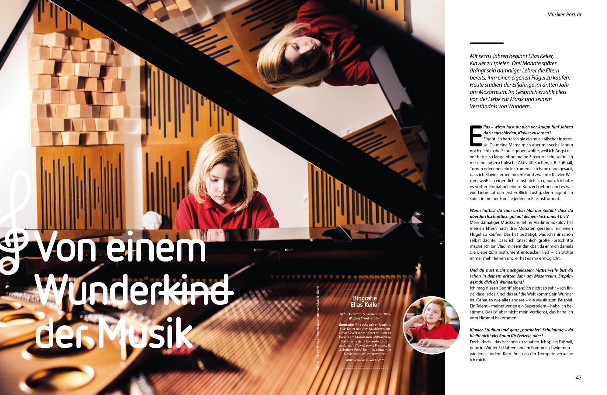 Elias Keller Wunderkind am Klavier