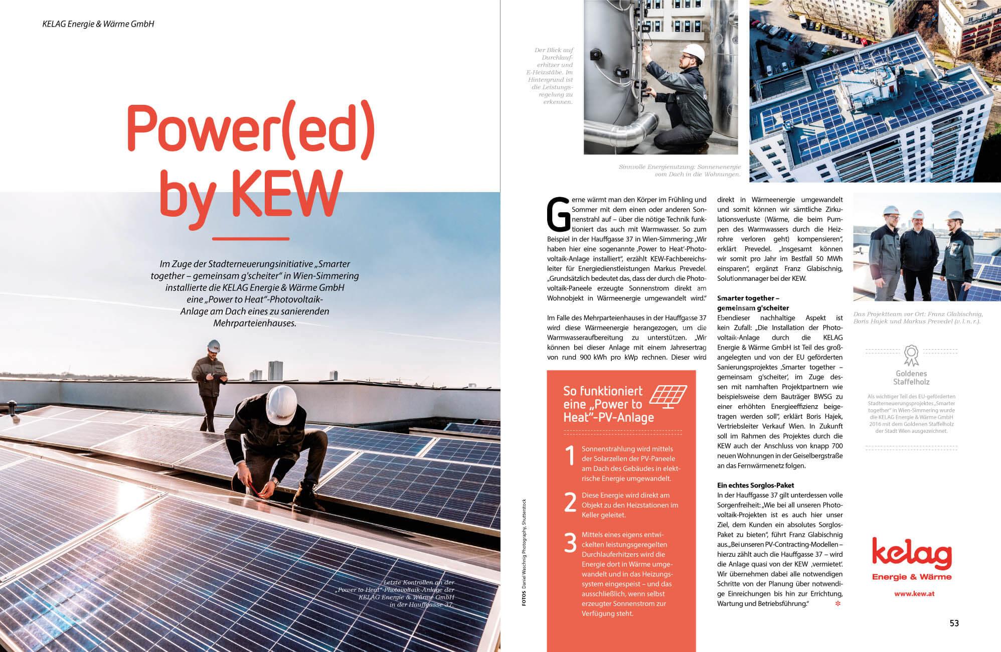 Photovoltaik Fotoshooting in Wien   Powered by Kelag Wärme